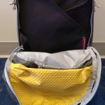 Main compartment shown with Eagle Creek Pack-It Folder 15 inside