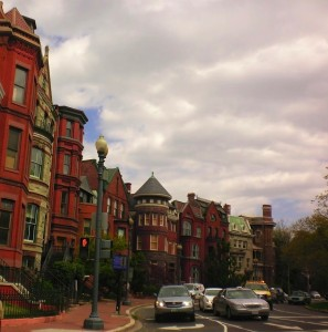 Logan Circle in the morning