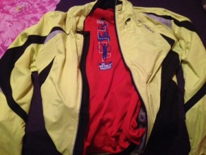 Jacket and New York Marathon Shirt