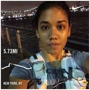 New Run Commuter Lori Corpuz