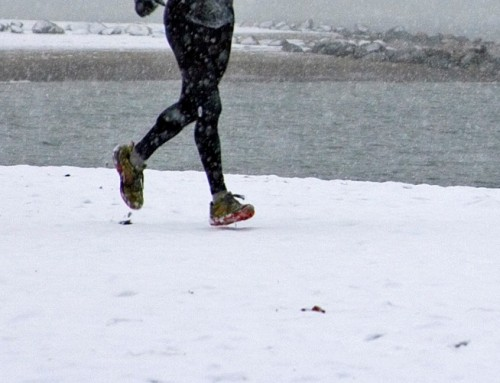 Run Commuting Tights Fit to Face a Canadian Winter