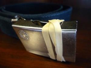 Belt Buckle Silencer