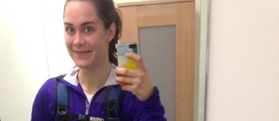 run commuter, run to work, running backpack, claire brandow, new york runner, alternative commute, run commuting