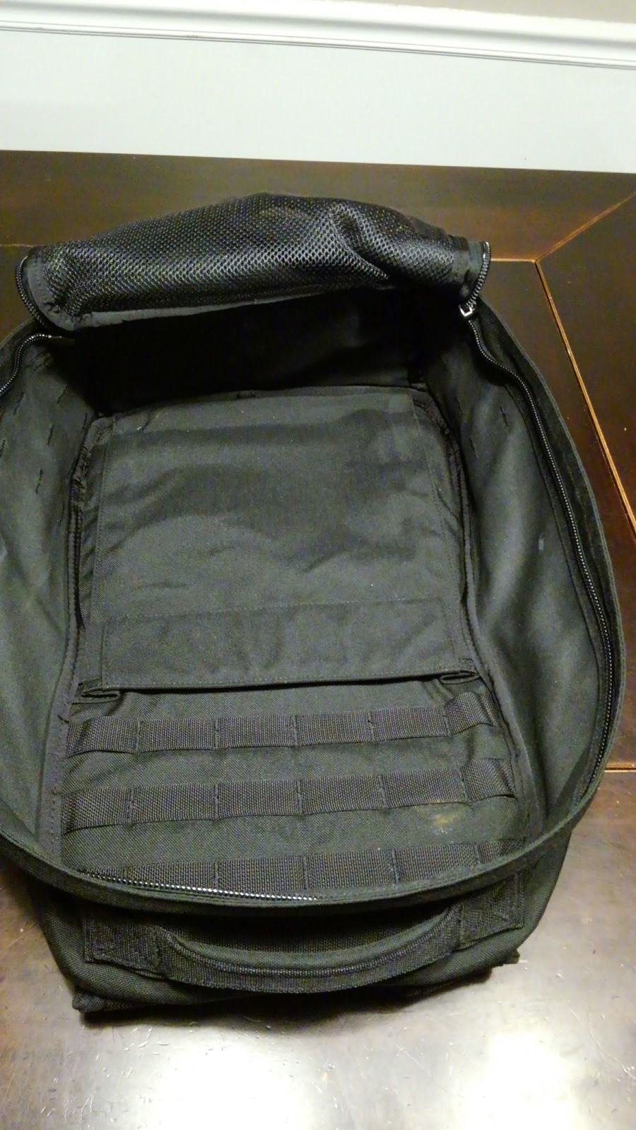Running Backpack Archives The Run Commuter 6 In 1 Secret Pouch Bag Organiser Bgo 15 There Is An Elasticized On Back Of Which Will Hold 3 Nalgene Bottles Side By Perfectly